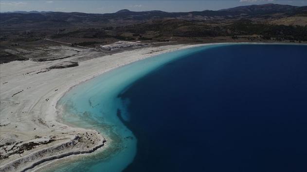 Saldanın Beyaz Adalar bölgesinde göle ve plaja giriş yasaklandı
