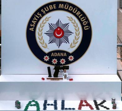 Adanada kumar operasyonunda 35 kişi suçüstü yakalandı