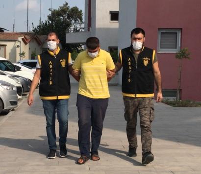 Adanada cami bahçesine saklanmaya çalışan kapkaç zanlısı tutuklandı