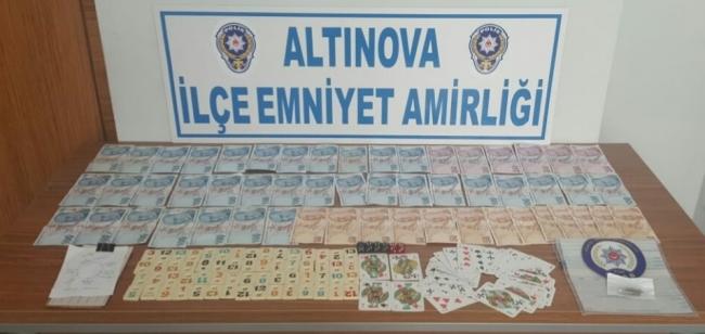 Yalovada kumar oynanan dernek lokalindeki 14 kişiye para cezası