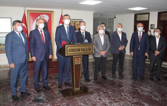 Milli Eğitim Bakanı Ziya Selçuk, Giresun Valiliğini ziyaret etti
