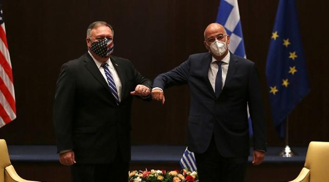 ABD Dışişleri Bakanı Pompeo, Yunanistanda mevkidaşı Dendias ile görüştü