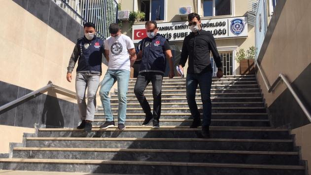 İstanbuldaki gasp ve darp şüphelilerinden biri adliyeye sevk edildi