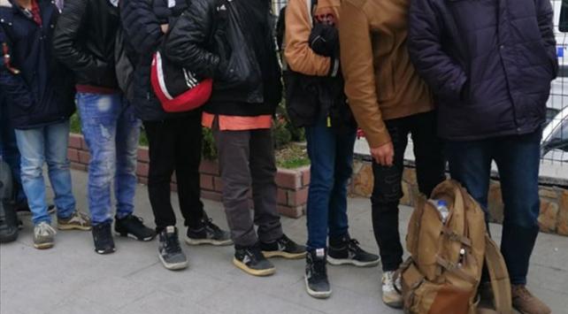 Malatyada 58 düzensiz göçmen yakalandı