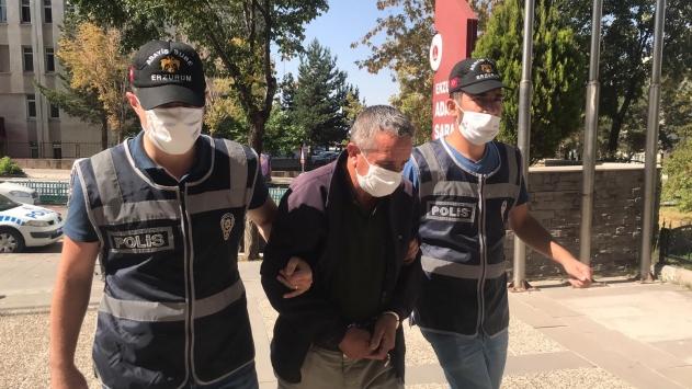 Erzurumda hayvan hırsızlığına karışan zanlı yüzlerce kamera görüntüsü izlenerek yakalandı