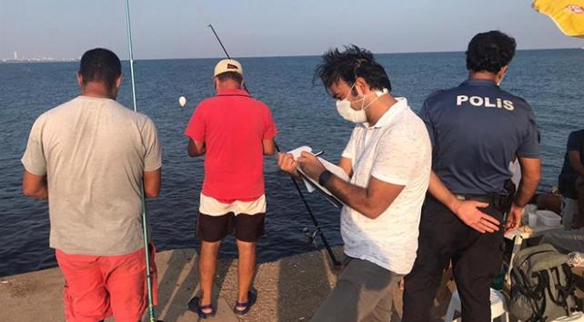 Usulsüz balık avlayan 2 kişiye 11 bin lira ceza