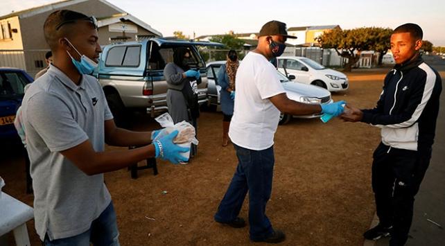 Güney Afrika Cumhuriyetinde vaka sayısı 671 bini geçti