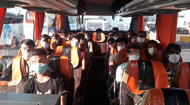 Sakaryada 21 düzensiz göçmen yakalandı