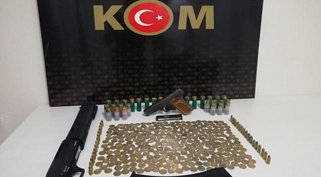 Malatyada silah ticareti operasyonunda 289 sikke ele geçirildi: 2 gözaltı