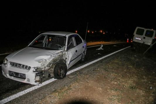 Domaniçte zincirleme trafik kazası: 1 yaralı