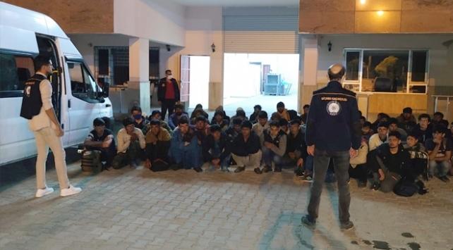 Bitliste 41 düzensiz göçmen yakalandı