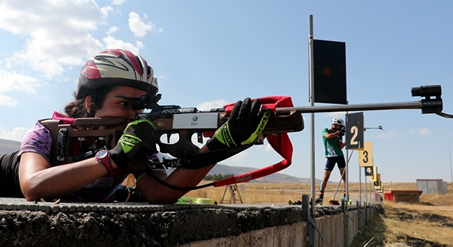 Milli biatloncu Mine Kılıçın hedefi Tokyo Olimpiyatları
