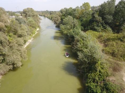 Sakarya Nehrinde boğulma tehlikesi geçiren 4 çocuktan biri kayboldu