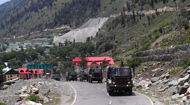 Çinden Hindistanın sınır bölgesindeki aktivitelerine itiraz