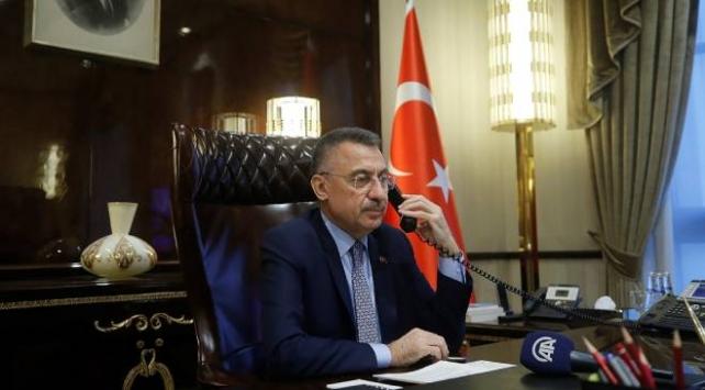 Cumhurbaşkanı Yardımcısı Oktay, Hacıyev ve Esedov ile görüştü