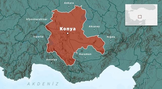 Konyada 3,8 büyüklüğünde deprem