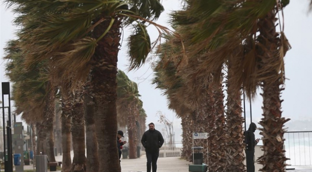 Batı Akdenizde fırtına bekleniyor