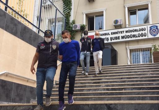 İstanbulda iş yerinden hırsızlık yapan 2 şüpheli tutuklandı