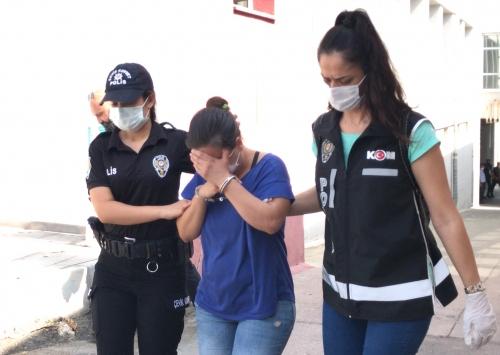 Adana merkezli suç örgütü operasyonunda yakalanan zanlılardan 10u tutuklandı