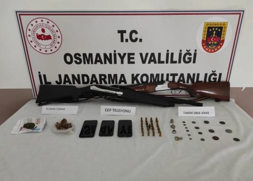Osmaniyede uyuşturucu operasyonunda 7 kişi yakalandı