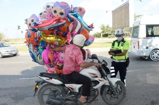 Ülke genelinde motosiklet ve kask kullanımı denetimi yapıldı