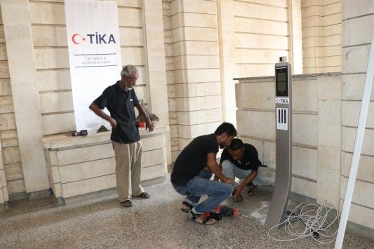 TİKAdan Yemenin Kovid-19la mücadelesine termal kamera desteği