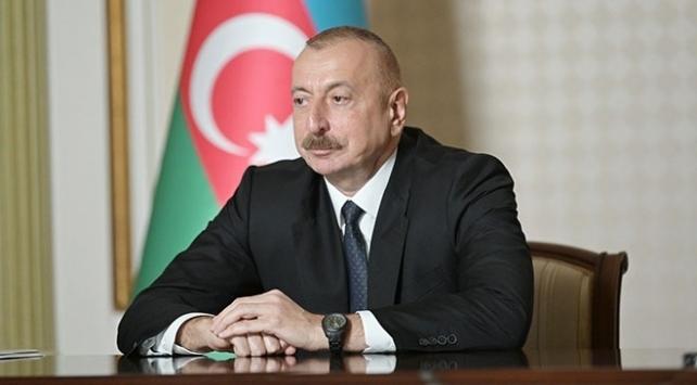 Aliyev: Azerbaycanın tek koşulu Ermenistan ordusunun geri çekilmesidir