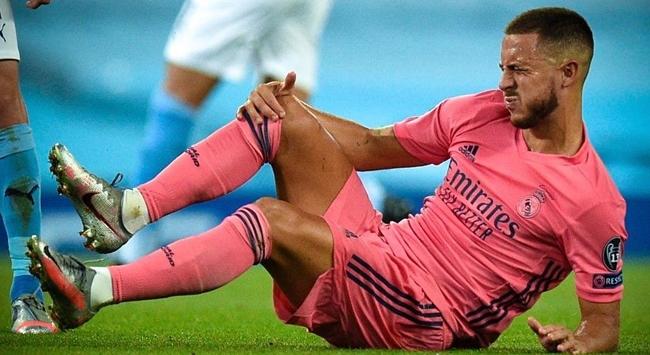 Real Madridde Eden Hazard sakatlandı