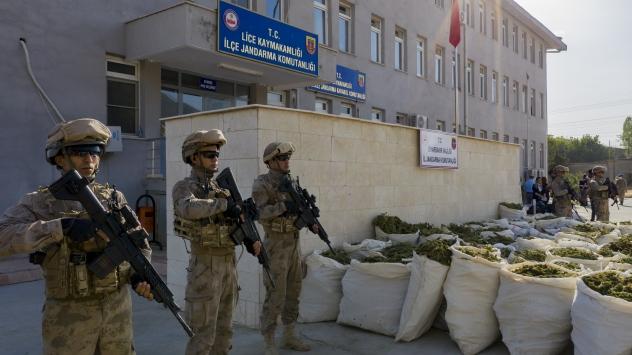 Terörün finansı uyuşturucuya Diyarbakırda büyük darbe