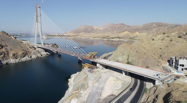 Yeni Kömürhan Köprüsü 15 Aralıkta hizmete açılacak