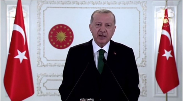 Cumhurbaşkanı Erdoğan: İklim değişikliği ile mücadelede en ön saflarda yer alıyoruz