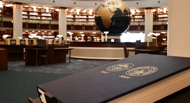 Fenerbahçe tarihini anlatan eser Millet Kütüphanesinde
