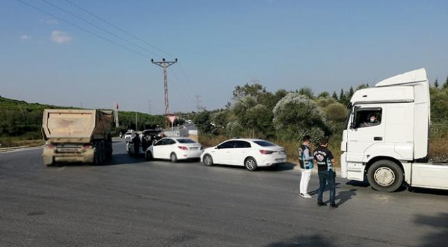 İstanbuldaki denetimlerde hafriyat kamyonlarına ceza yağdı