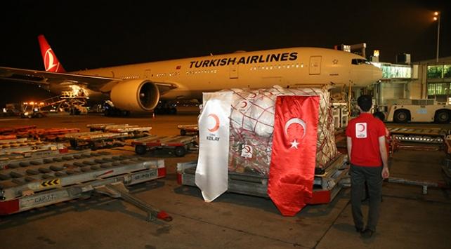 Türk Kızılaydan Pakistana maske yardımı