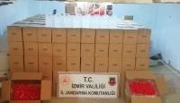 İzmir'de sahte içki operasyonu: 11 bin litre etil alkol ele geçirildi