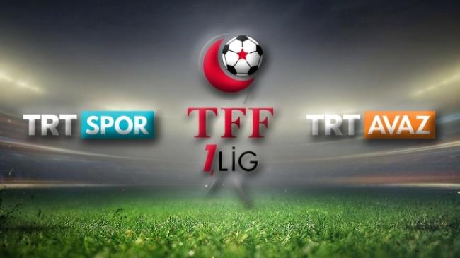 TFF 1. Lig 4. hafta heyecanı TRT'de yaşanıyor