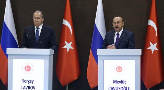 Bakan Çavuşoğlu Rus mevkidaşı Lavrov ile görüştü