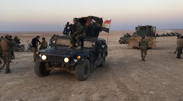 Irakta DEAŞ operasyonuda 3 terörist öldürüldü