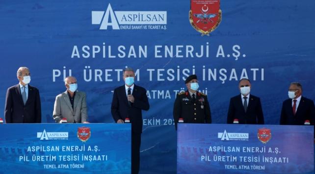 Türkiyenin ilk lityum iyon pil üretim tesisinin temeli atıldı