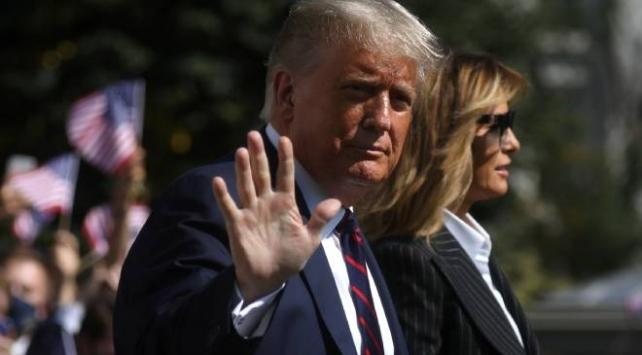 ABD Başkanı Trump, hafif COVID-19 belirtileri gösteriyor