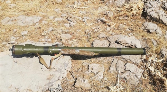 Pençe-Kaplan Operasyonunda PKKya ait silah ve mühimmat ele geçirildi