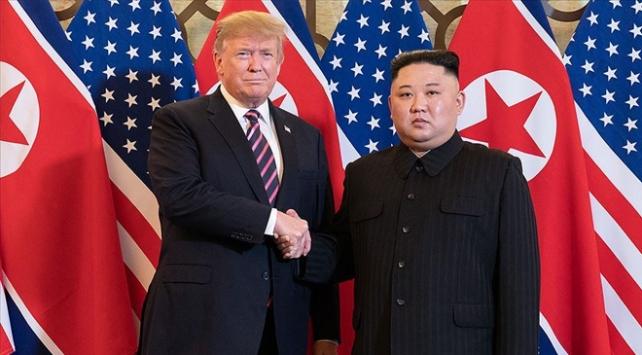 Kuzey Kore lideri Kim Jong-undan Trumpa geçmiş olsun mesajı