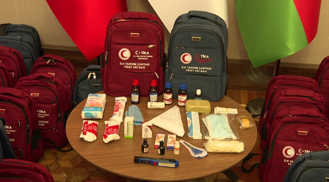 TİKAdan Azerbaycana 500 ilk yardım çantası