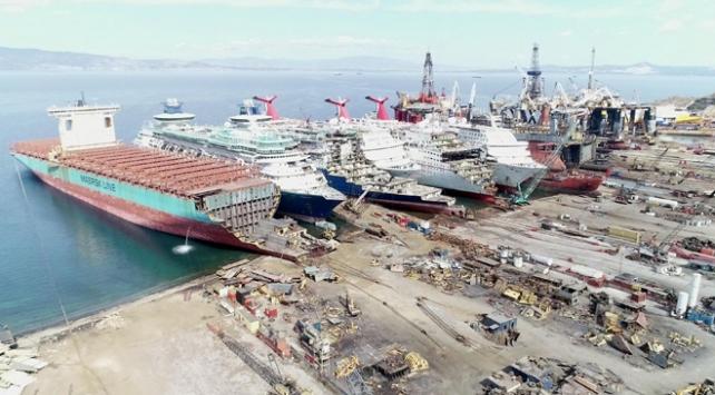 Gemi geri dönüşümünde 1 milyon 100 bin ton hedefi