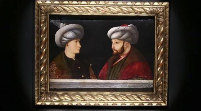 Fatihin portresinin ön gösterimi yapıldı