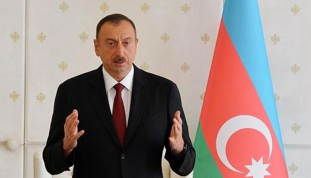 İlham Aliyev: Madagizde Azerbaycan bayrağı dikildi