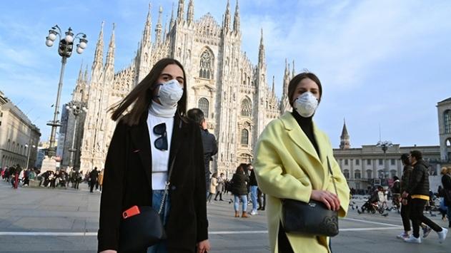 İtalyada 2 bin 844 yeni vaka tespit edildi