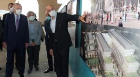 Cumhurbaşkanı Erdoğan'dan, Tersane İstanbul'da inceleme