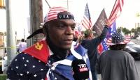 Koronavirüse yakalanan Trump'ın destekçileri sokaklara döküldü
