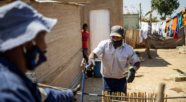 Güney Afrika Cumhuriyetinde vaka sayısı 682 bini geçti
